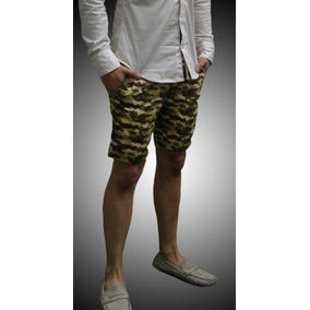 Shorts John Leopard Camo Slim Fit Chinos 2015 Militar