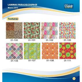 Láminas Para Decoupage Eq Arte 31,5 X 31,5 Cm X Unidad