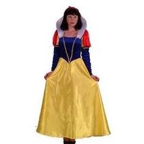 Disfraz Vestido Mujer Blanca Nieves Original Disney Talla S