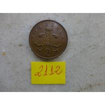 M - 2112 - Moeda Inglaterra 2 New Pence!!!
