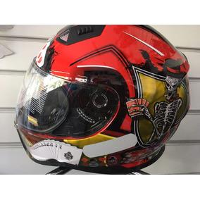 Capacete De Moto Nasa Sh-881 Cavaleira Del Juego N58