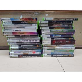 Variedad De Juegos Xbox 360 Seminuevos Originales