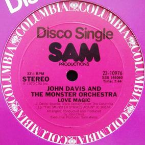 John Davis Love Magic 12 Mix Importado 1979 Disco Classic