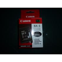 Cartucho Canon Bx-3 Negro, Original