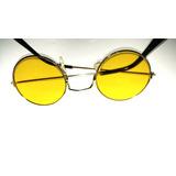 Óculos Unissex Famoso Em Alta Lente Bola Jhon Lennon Beatles