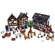 Juguete Lego Castillo Medieval Del Pueblo De Mercado ( )