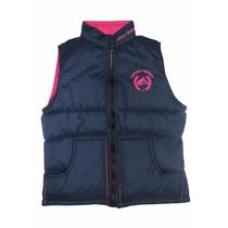 Colete Feminino Cavalo Crioulo Azul/pink