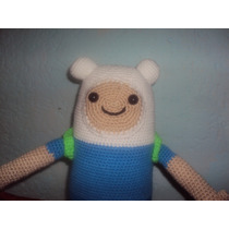Muñecos Tejidos A Crochet O Gancho Finn Y Jacke