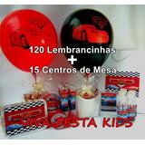 Kit Festa Personalizada Carros, Peppa Pig E Etc C/ 135 Unid.