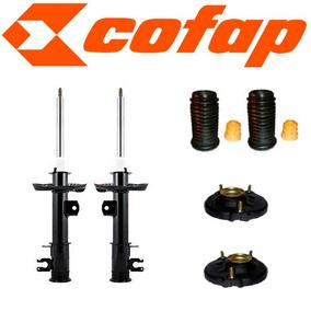 Kit 2 Amortecedores Dianteiros Punto +kits+coxim Cofap