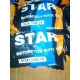 Cámara De Aire Tripa Rin Moto Duro Star 3.00-18 Bera