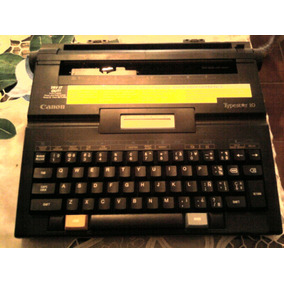 Maquina D Escribir Electrica Canon Typestar 10