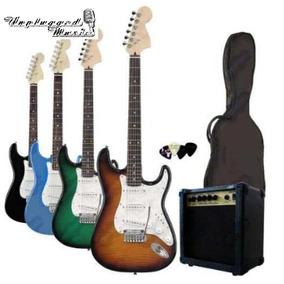 Combo Guitarra P/niño Electrica Amplificador +funda+cable