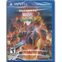 Ultimate Marvel Vs. Capcom 3 Ps Vita Nuevo Y Sellado