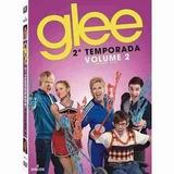 Glee 2ª Temporada Vol 2 C/ 4 Dvds C/ Luva Lacrado De Fabrica