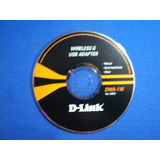 Cd Original Pc - Wireless D-link Dwa-110