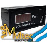 Voltimetro Digital 220vca | Medidor De Tension / Voltaje