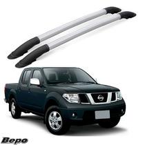 Longarina Teto Rack Elegance Bepo Nissan Frontier Sel Prata