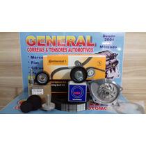 Kit Correia Dent+bomba D Agua Megane Grand Tour 2.0 16v 07/.