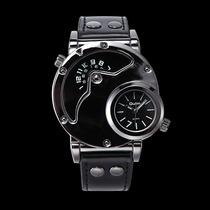 Reloj Oulm Ruso Militar Doble Reloj Agua 60 M