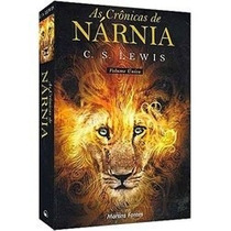 Livro As Crônicas De Nárnia Volume Único