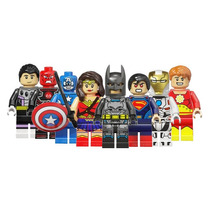 Set Batman Vs Superman & Civil War Sw3 Compatible Con Lego