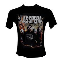 Remera - Asspera - Bandas - Rock - Metal - Envios