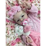 Cris Couto Bebe Reborn Angeline Pronta Entrega