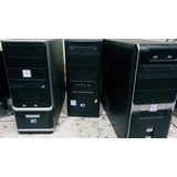 Cpu Dual Core 2.0 Ram 2 Gb Hd 80 Gb Dvd Lector Full Internet
