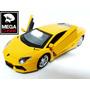 Auto Lamborghini Aventador Esc1:36 Coleccion Metalico Luces