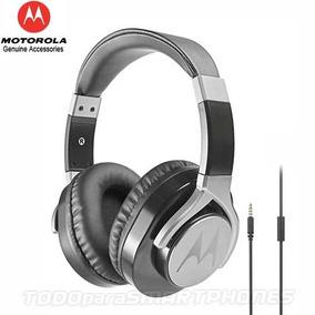 Manos Libres Motorola Pulse Max Negro 3.5mm Audifonos Stereo