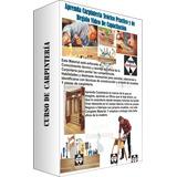 Aprenda Carpintería + Regalo Curso De Carpintería En Videos