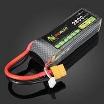 Bateria Lipo 11.1v 2800mah 40c 3s Phantom 1 Fc40 Turnigy Jr