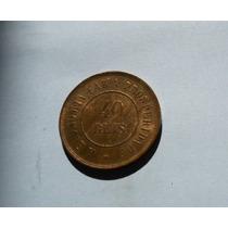 543 - 40 Réis - 1900 - Moeda De Bronze - Brasil.