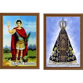 Santinho Nossa Senhora Aparecida Santo Expedito - 1000u Cda