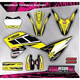 Kit Calcos - Gráfica Yamaha Wr 250 R Gruesos!!