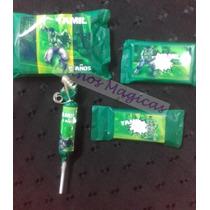 Candy Bar Increible Hulk Golosinas Personalizadas 10 Chicos
