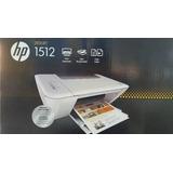 Impresora Hp Multifuncional 1512 Cartuchos Y Cable Usb