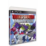 Transformers Devastation Ps3 Juego Digital En Manvicio!!!