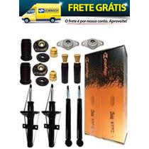 04 Amortecedor Cofap + Kit Reparo Fiat Punto Linea