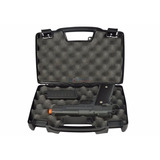 Capa Case Estojo P/ Pistola Airsoft Porta Cadeado Plano 1403