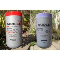 Kit Paiolla Botox 3d Argan E Violet