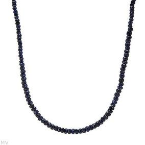 Collar De Plata Con Zafiros 02235361