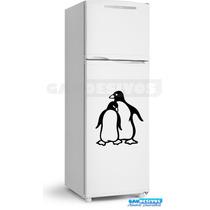 Adesivo Decorativo Geladeira/parede 2 Pinguins