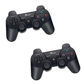 Controle S/fio Para Play 3 Kit C/2 Wireless Original Knup P3