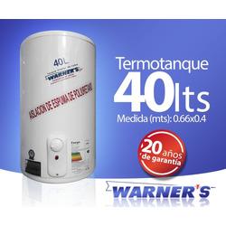 Termotanque / Calefon Tanque De Cobre 40lts Warners Plus