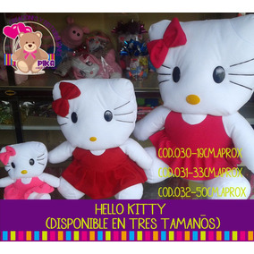 Peluches Hello Kitty Grande 50cm. Mayor Y Detal. Fabrican