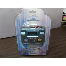 Walkman Reproductor Cassette Akustic Tocacintas Nuevo