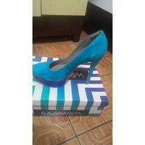 Sapato De Salto Alto Colorido