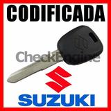 Copia Llave Codificada Suzuki Swift Chip Transponder